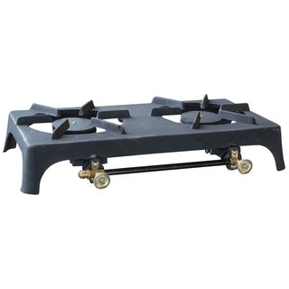 Link to Sportsman Series Double Burner Cast Iron Stove Similar Items in Cooking Equipment