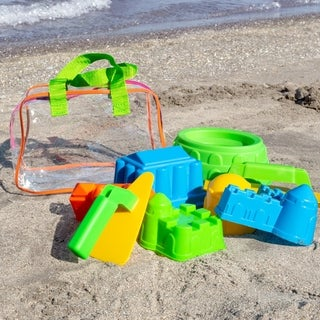 Link to Beach Sand and Water Toy Set for Kids BPA Free Hey! Play! - 9.5 x 6 x 6.5 Similar Items in Outdoor Play