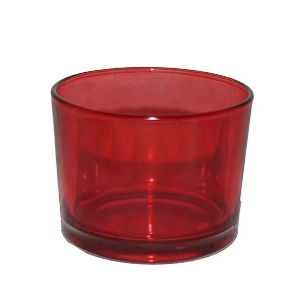 Essential Decor & Beyond 12 Piece Glass Votive Holder Set EN29007 - 3.2 x 3.2 x 2.45