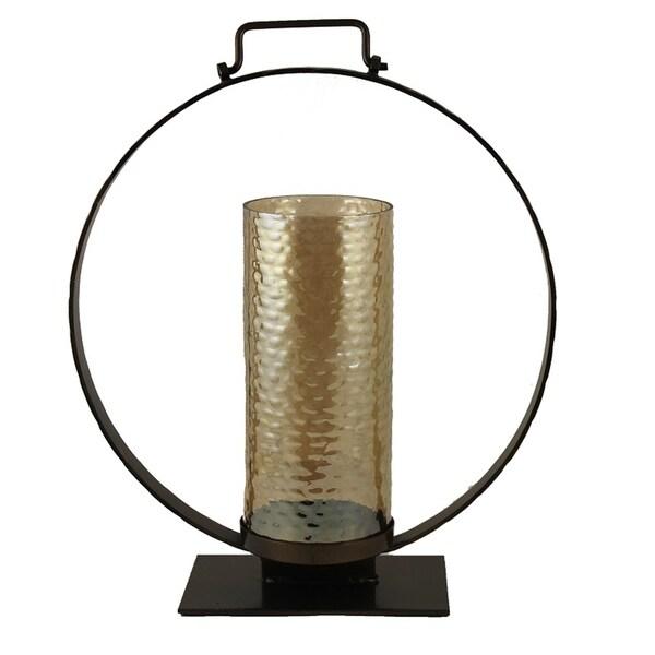 Essential Decor & Beyond Glass Votive EN14020 - 16.25 x 14.5 x 19