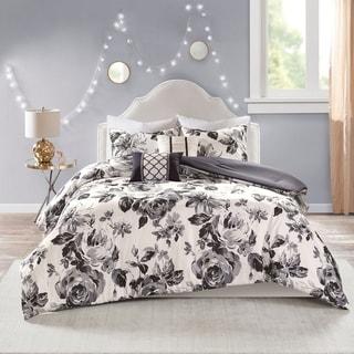 Shop Intelligent Design Renee Black White Floral Print