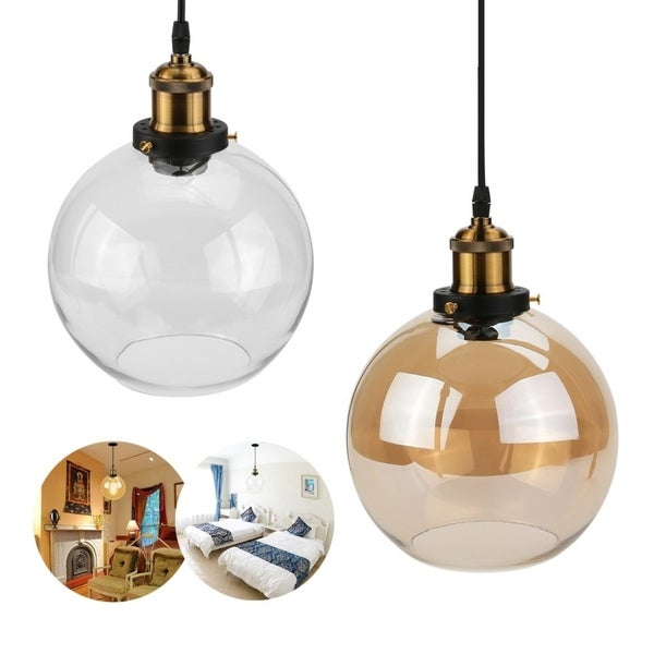 Shop 25 Diameter Chandelier Ball Shade Pendant Light Cafe