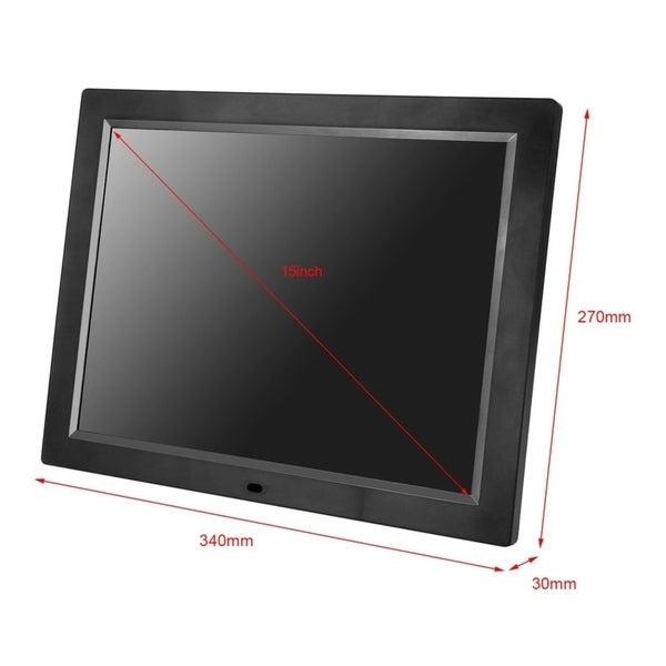 NAXA NF-900 TFT LED Digital Photo Frame electronic consumer 9