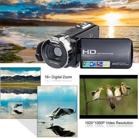 2.7 Inch LCD Screen Camcorders 1080*720P Mini Digital Video Camcorder Camera