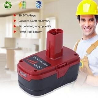 4000mAh 19.2V Li-Ion Battery For Craftsman C3 PP2030 PP2025 11374 11375