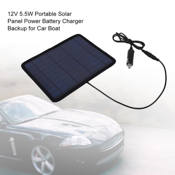 Small Room Box Kit Dhw021: Shop 12V 5.5W Portable Solar Panel Power Battery Charger