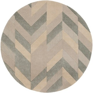 Hand-Tufted Ancren Wool Area Rug - 8' Round
