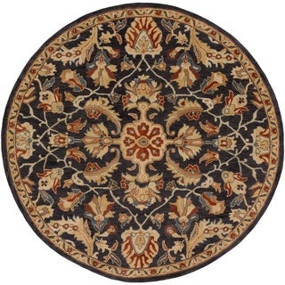 Hand-Tufted Sinalenor Wool Area Rug - 8' Round