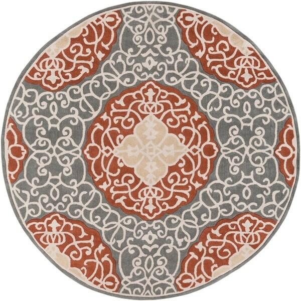 Hand-Tufted Jita Area Rug - 8' Round