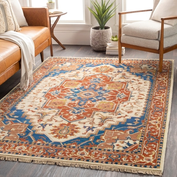 Shop Hand-Knotted Jupiter Wool Area Rug - 8' Round - On Sale