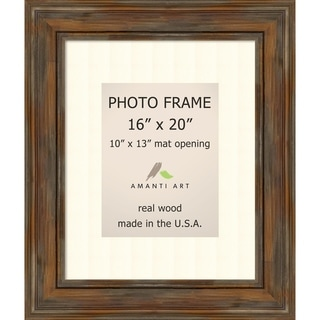 Picture / Photo Frame, Alexandria Rustic Brown