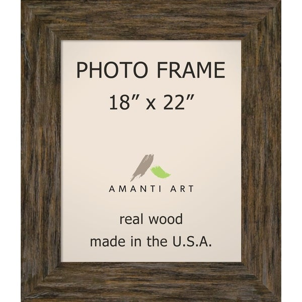 Picture / Photo Frame, Fencepost Brown