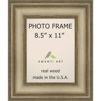 Picture / Photo Frame, Mezzanine Antique Silver Narrow