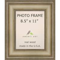 Picture / Photo Frame, Mezzanine Antique Silver Narrow