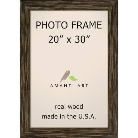 Picture / Photo Frame, Fencepost Brown Narrow