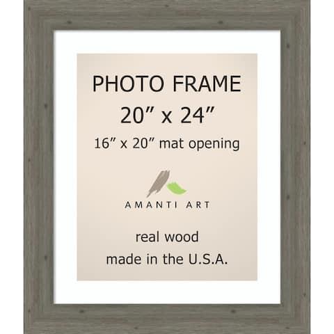 Picture / Photo Frame, Fencepost Grey Narrow