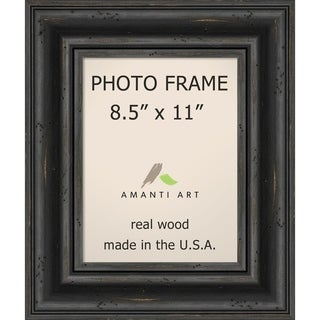 Picture / Photo Frame, Rustic Pine Black
