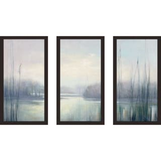 """Misty Memories"" by Julia Purinton Framed Acrylic Wall Art Set - gray"