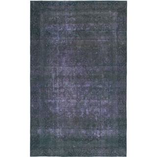 Hand Knotted Ultra Vintage Wool Area Rug - 6' 6 x 10' 6