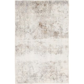 Hand Knotted Ultra Vintage Wool Area Rug - 3' 2 x 5'
