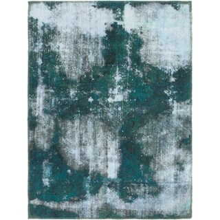 Hand Knotted Ultra Vintage Antique Wool Area Rug - 2' 10 x 4'