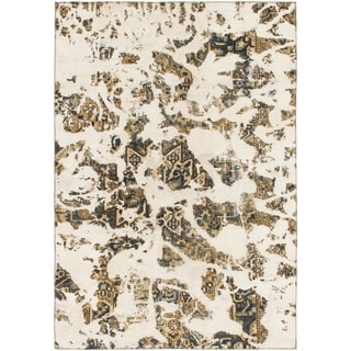 Hand Knotted Ultra Vintage Wool Area Rug - 7' 4 x 10' 6