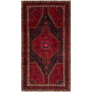 Hand Knotted Tuiserkan Semi Antique Wool Area Rug - 5' x 9' 3