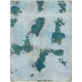 Hand Knotted Ultra Vintage Antique Wool Area Rug - 3' 2 x 4' 3