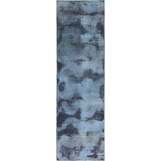 Hand Knotted Ultra Vintage Wool Runner Rug - 2' 9 x 9' 5