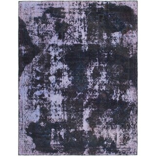 Hand Knotted Ultra Vintage Wool Area Rug - 7' 10 x 10' 2