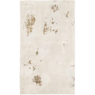 Hand Knotted Ultra Vintage Wool Area Rug - 2' 9 x 4' 7