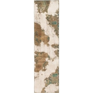 Hand Knotted Ultra Vintage Wool Runner Rug - 2' 6 x 9' 3