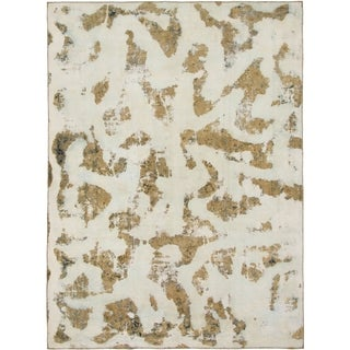 Hand Knotted Ultra Vintage Wool Area Rug - 8' 9 x 12'