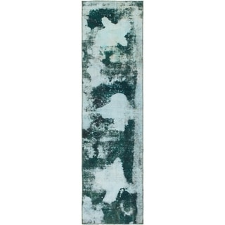Hand Knotted Ultra Vintage Wool Runner Rug - 2' 4 x 8' 8
