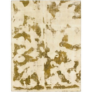 Hand Knotted Ultra Vintage Wool Area Rug - 9' x 12'