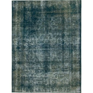 Hand Knotted Ultra Vintage Wool Area Rug - 8' 3 x 11'