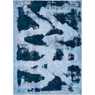 Hand Knotted Ultra Vintage Antique Wool Area Rug - 8' x 11' 5