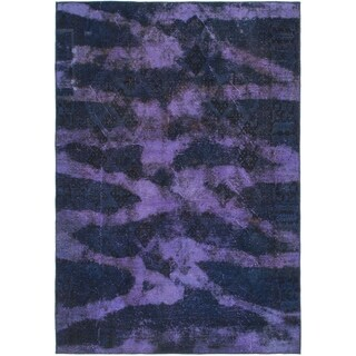 Hand Knotted Ultra Vintage Wool Area Rug - 6' x 8' 10