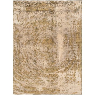 Hand Knotted Ultra Vintage Wool Area Rug - 7' 2 x 10'