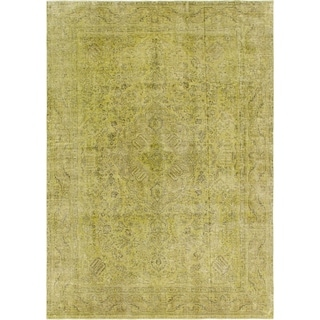 Hand Knotted Ultra Vintage Wool Area Rug - 8' x 11' 3