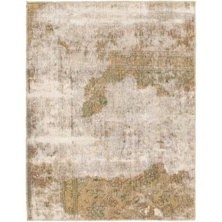 Hand Knotted Ultra Vintage Wool Area Rug - 3' x 4'