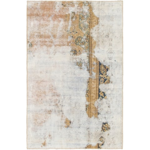 Hand Knotted Ultra Vintage Wool Area Rug - 3' 3 x 5'