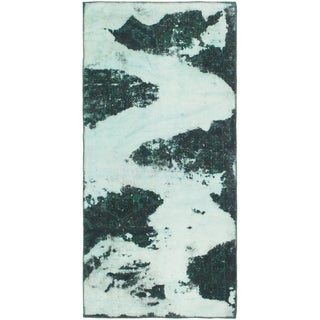 Hand Knotted Ultra Vintage Wool Area Rug - 3' x 5'