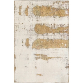 Hand Knotted Ultra Vintage Wool Area Rug - 3' 6 x 5' 4