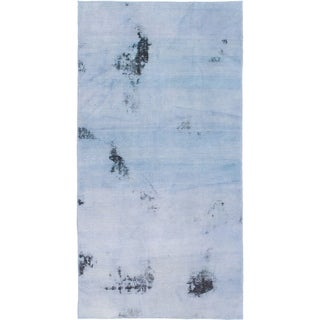 Hand Knotted Ultra Vintage Wool Area Rug - 3' 4 x 6' 5