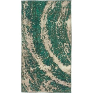 Hand Knotted Ultra Vintage Wool Area Rug - 2' 6 x 4' 6