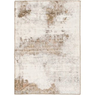 Hand Knotted Ultra Vintage Wool Area Rug - 2' 8 x 3' 10