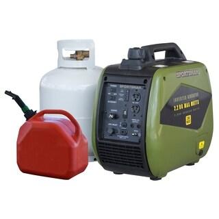 Sportsman 2200 Watt Dual Fuel Inverter Generator - Green - N/A