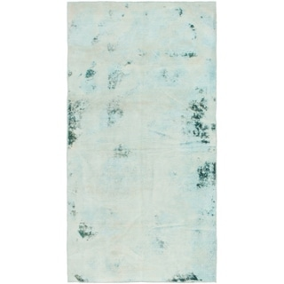 Hand Knotted Ultra Vintage Wool Area Rug - 3' 3 x 6' 4
