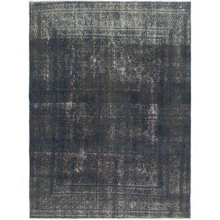 Hand Knotted Ultra Vintage Wool Area Rug - 7' 10 x 10' 7